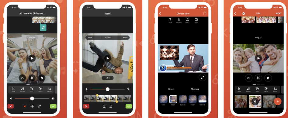 edit video in iPhone